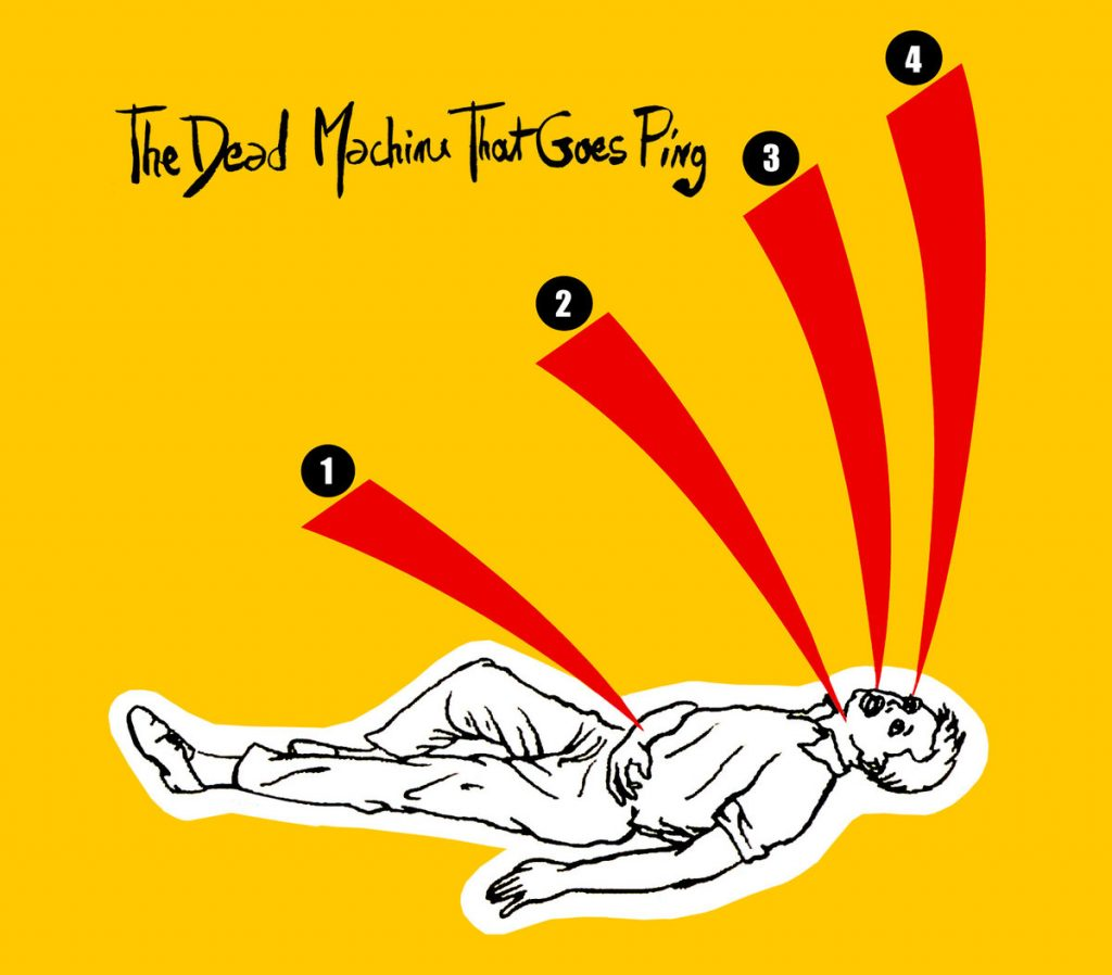 DD-005 - Herr Geisha & the Boobs - TheDeadMachineTahtGoesPing (2014) CD - 10€