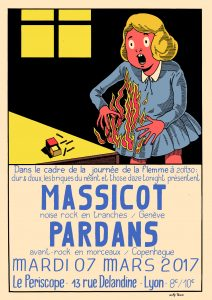 Massicot + Pardans poster © Willy ténia