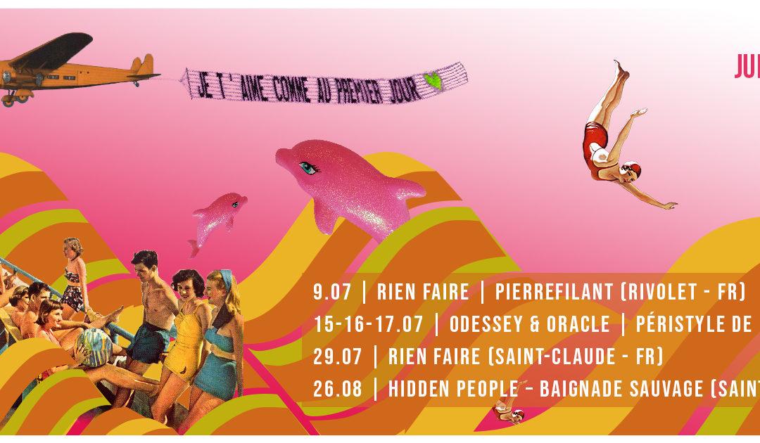 Dur et Doux Tour – Juillet / Août 2021