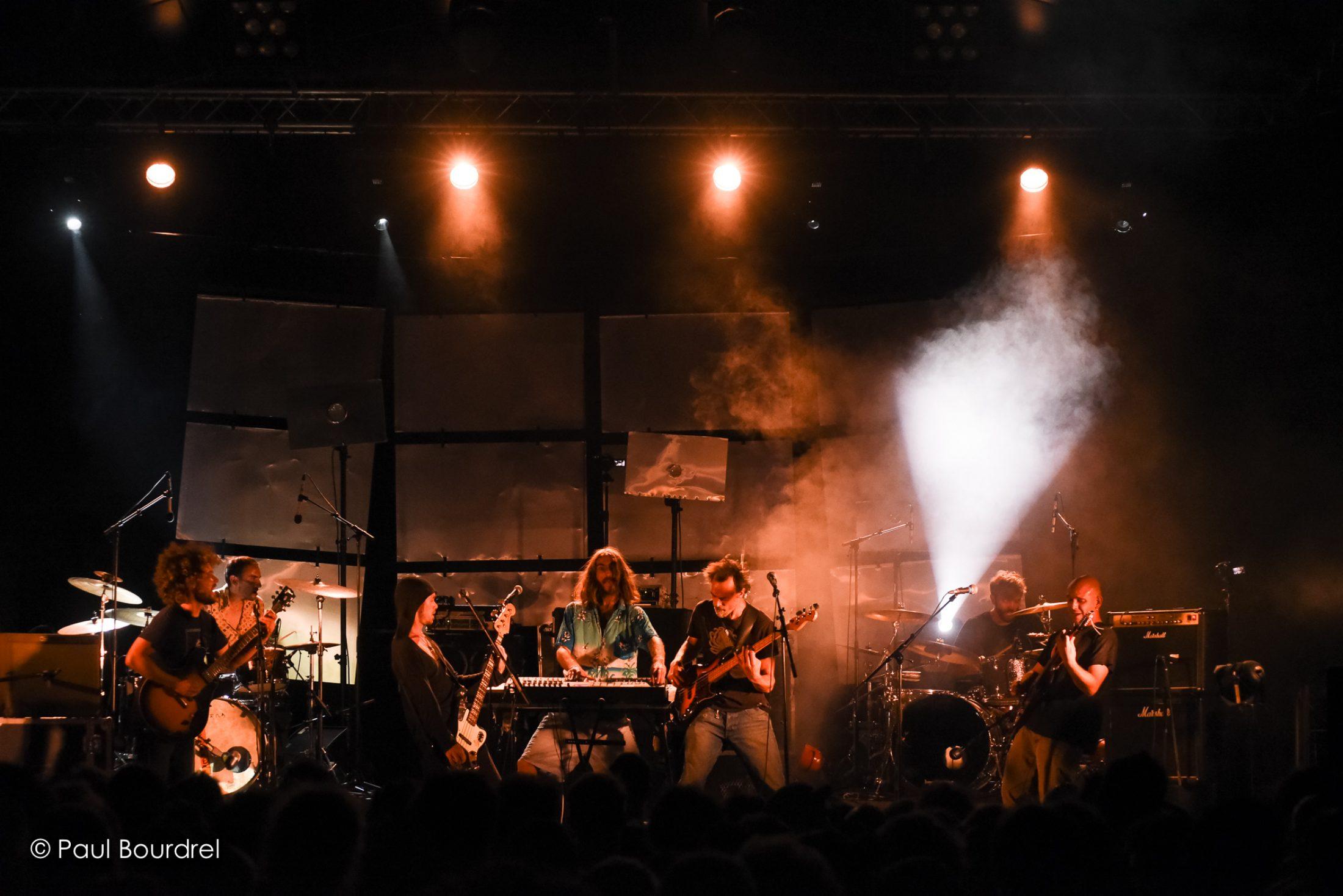 Piniol live at Ca fait Zizir © Paul Bourdel (Nova)